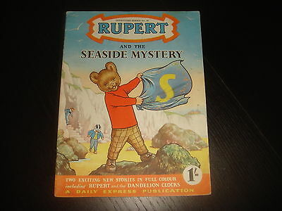 RUPERT THE BEAR ADVENTURE SERIES #26 and The Seaside Mystery