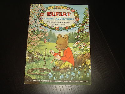 RUPERT THE BEAR ADVENTURE SERIES #32 Spring Adventures