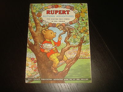 RUPERT THE BEAR ADVENTURE SERIES #34  Autumn Adventures