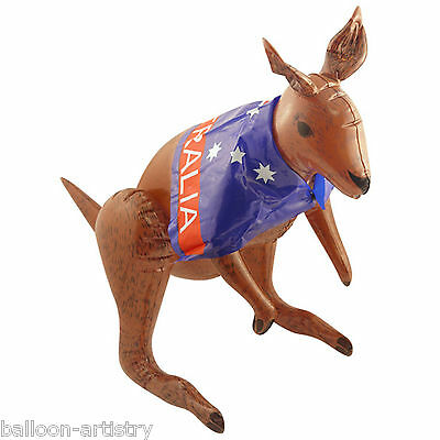 70cm Australia Sports Australian Flag Party Inflatable KANGAROO Prop Decoration