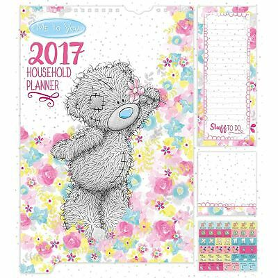 Me to You Household Planner & Stickers 2017 NEW - Tatty Teddy Bear