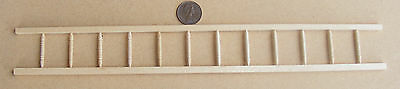 1:12 Scale Completed Wooden Banister Rail Dolls House Miniature Accessory