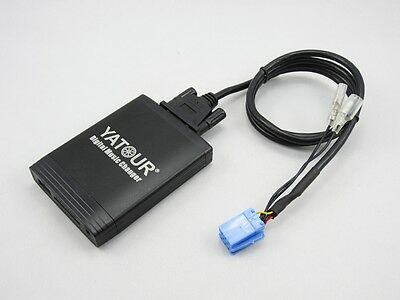 USB SD AUX Adapter MP3 Wechsler Interface passend für Lancia Radio mit 8 Pin