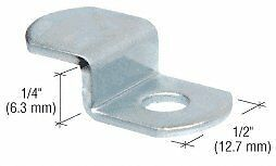 """CRL Offset Mirror Clip for 1/4"""" Glass - Pack of 4"""