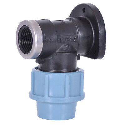 1/2 Wall Plate Compression Elbow 20mm