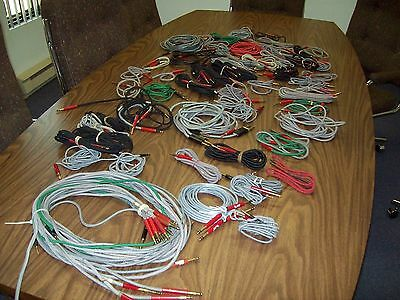 Cables 310 to 310 ,310 to Bantam assorted lenghts*lot of 81*