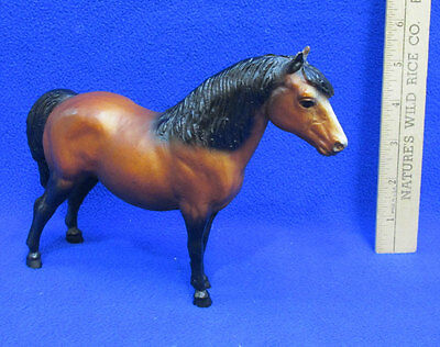 Breyer Horse Toy Plastic Molding Co USA Shetland Pony Foal Filly Colt Brown