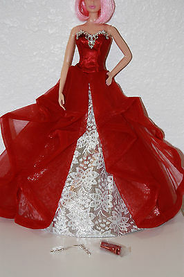 Barbie Collector 2015 Holiday Dress Gown Fashion Outfit ONLY NO DOLL