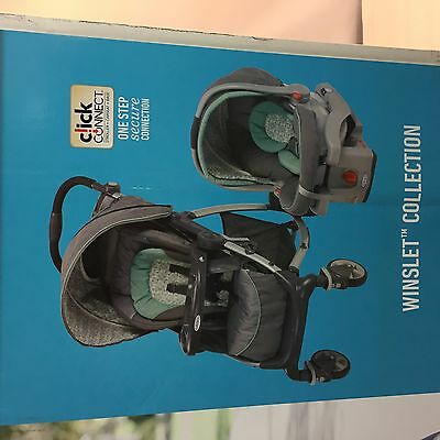 Graco Stylus Travel system w/snugride 35 - Winslet Collection