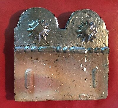 Antique Garden Terra Cotta Edging Border Sewer Tile 19th c. Georgia Slave Tile