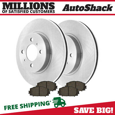 2003 2004 for Buick Regal Disc Brake Rotors and Ceramic Pads Front