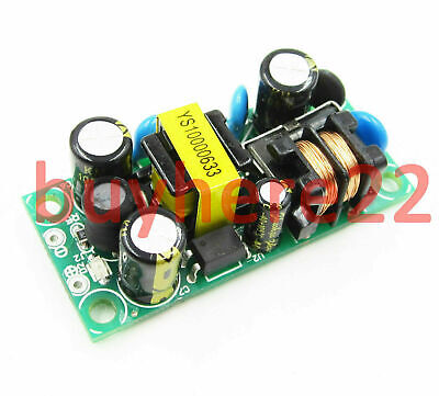 5V DC 1A 1000mA 5W 85-265v AC DC Step Down Isolated Switching Power Supply UK