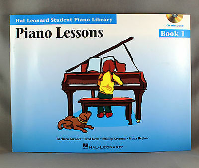 Hal Leonard Student Library Piano Lessons Book 1 incs CD - Brand New