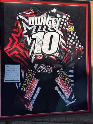 Authentic Ryan Dungey Signed Framed Jersey and Pants Rookie Season Suzuki