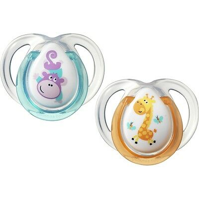 Tommee Tippee Closer to Nature Fun Soother 0-6 Months