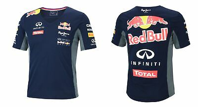 NEU Pepe Jeans Red Bull Racing Teamline F1 Damen Funktions T-Shirt 15046  XS