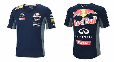 NEU Pepe Jeans Red Bull Racing Teamline F1 Damen Funktions T-Shirt 15046  L