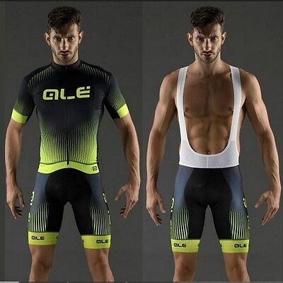 New Outdoor Sport Pro Team Cycling Jersey Bib Shorts Bike Clothes Set Wear UK-24