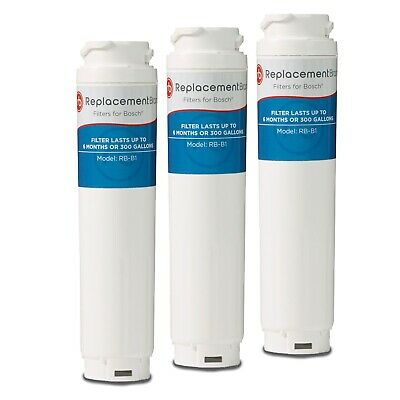 Fits Bosch 644845 UltraClarity 9000 077104 Comparable Refrigerator Filter 3 Pack