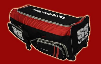 Ss Professional Complete Cricket Kit Bag  (With Wheels) Full Size Free Shipping