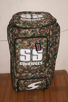 New Ss Camou Duffle Pack Cricket Kit Bag Backpak Type Free Shipping Latest 2016