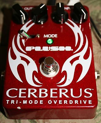 Fuchs Plush Cerberus Tri Mode Overdrive Effects Pedal Od Free Shipping
