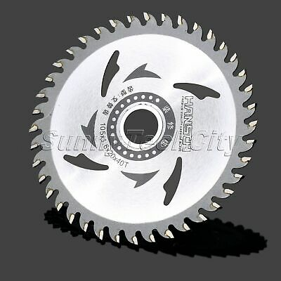"1Pc 4"" Steel Circular Saw Blades Wheel Cutting Disc 40 Teeth for Wood Working"