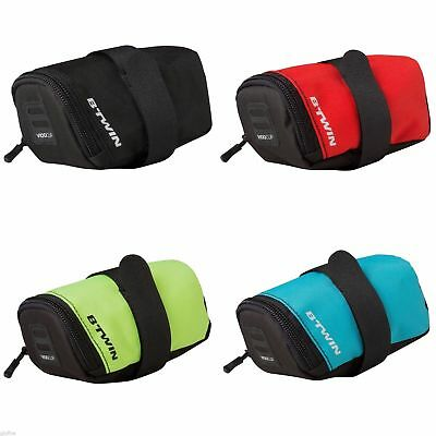 BIKE Lightweight 28g SADDLE BAG Small 0.5L EASE OF USE Cycling Mtb Road BTWIN