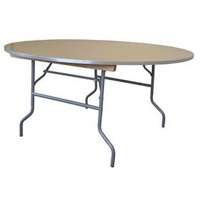 "60"" Round Wood Table, School, Office, Classroom, Meeting, Party, Event Tables"