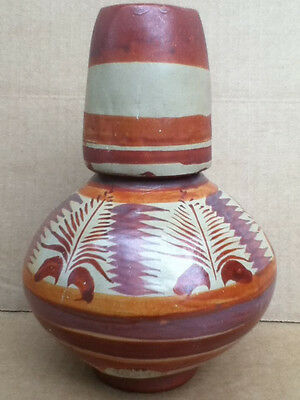 Navajo Native American Made In Mexico Water Jug 1936
