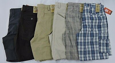NEW Men's Dockers Washed Twill Cargo Shorts - VARIETY
