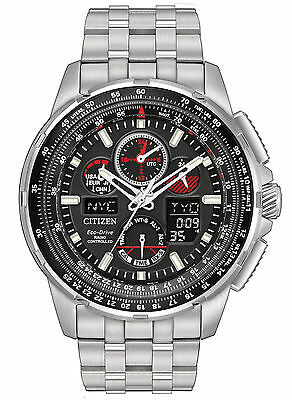 Citizen Eco-Drive Skyhawk A-T Chronograph Mens Watch JY8050-51E
