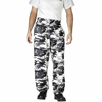 Chefwear 3500-89 Ultimate Chef Pant Arctic Camoflage all sizes XS-2XL NEW!