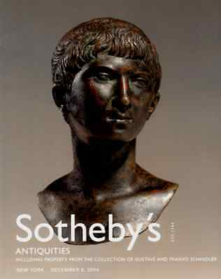 Sotheby's Antiquities : Collection Of Gustane And Franyo Schindler