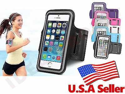Universal Outdoor Sport Running Gym Armband Pouch For Cell phone iPhone Android