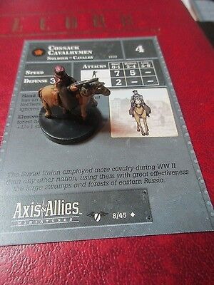 Axis and Allies Contested Skies #008 Cossack Cavalrymen  Unc.