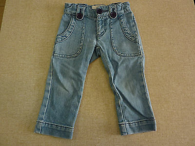 Infant Child COUNTRY ROAD Size 02 Denim Jeans Blue VGCond Quality CR Boys Girls