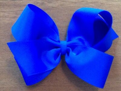 Lot Of 6 Large Boutique Hairbows Hair Bows Bows ~U Pick From 75 Lovely Colors