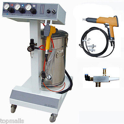 Electrostatic Powder Coating Spray Gun,Spray Machine,Paint System free shipping