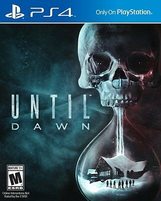 Until Dawn Sony PS4 Game BRAND NEW SEALED