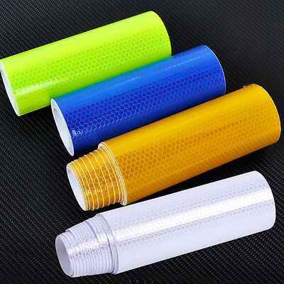 3M Safety Reflective Warning Conspicuity Film Sticker Strip Self Adhesive Tape