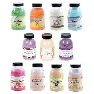 Assorted Fruity Floral Scented Non-Foaming Bath Salts - Bath Bubble & Beyond