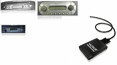 USB SDHC Adapter AUX In MP3 CD-Wechsler Interface Smart Roadster 450
