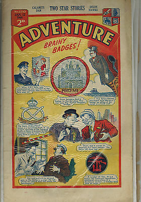 ADVENTURE COMIC 26 issues  from 1946  D. C. Thomson