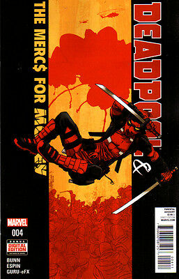 DEADPOOL AND THE MERCS FOR MONEY (2016) #4 New Bagged