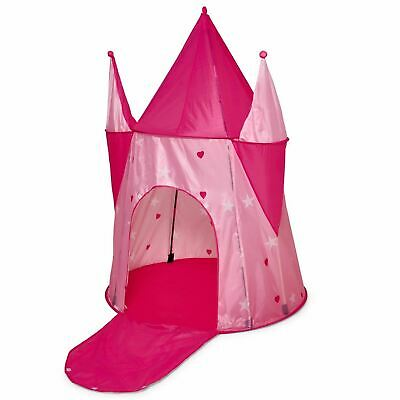 Childrens Princess Pink Castle Pop-up Indoor Outdoor Play Tent Fun Playhouse
