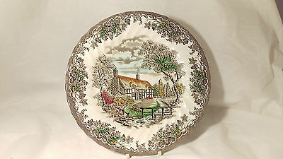 "Franciscan ENGLAND The Brook 9 7/8"" Dinner Plate (s) In Excellent Condition"
