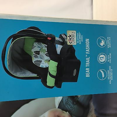 Graco SnugRide 30 Click Connect infant Car Seat with base - Bear Trail