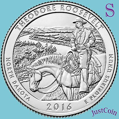 2016-S Theodore Roosevelt National Park (Nd) Quarter Uncirculated