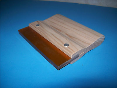 """New 4"""" Screen Printing Squeegee  70 Durometer"""